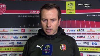 """Julien Stéphan après la défaite de Rennes à Dijon : """"J'ai honte"""""""