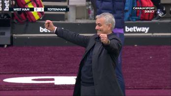 Caméra isolée sur Mourinho pour son premier match à Tottenham