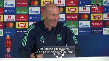 """Zidane est """"amoureux"""" de Mbappé..."""