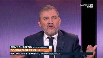 """Geoffroy Garétier sur le Real et son """"arbitrage à la maison"""""""
