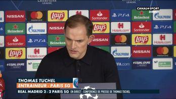 Tuchel en conférence de presse sur Neymar après Real / PSG