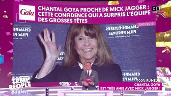 Chantal Goya : Très amie avec Mick Jagger !