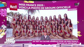 Miss France 2020 : Quelle Miss a eu le meilleur score au test de culture générale ?