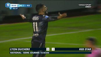 Les buts de Lyon-Duchère / Red Star