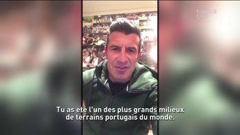 Le message de la légende Luis Figo à son compatriote Paulo Sousa
