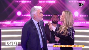 L'interview de Clara Morgane face à Pascal Praud