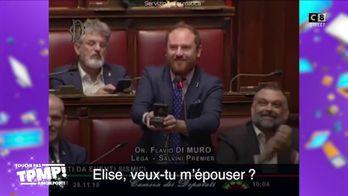 Le top 8 des vidéos qu'il ne fallait pas louper : Un député Italien fait sa demande en mariage