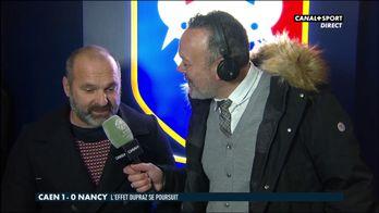 La réaction de Pascal Dupraz après Caen / Nancy