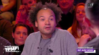 Fabrice Eboué s'exprime en roue libre sur TPMP : Anne Hidalgo, Johnny Hallyday, le véganisme...