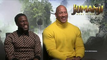 L'interview exclusive de Dwayne Johnson et Kevin Hart par Cyril Hanouna