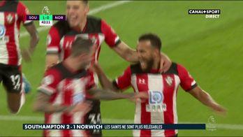 Le résumé de Southampton - Norwich
