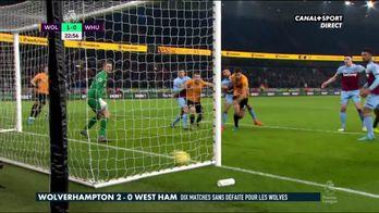 Les buts de Wolverhampton - West Ham