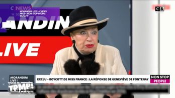 Geneviève de Fontenay s'exprime sur le sujet des candidates transgenres pour le concours Miss France