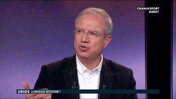 """Christophe Urios : """"Dédicace à tous les incompétents"""""""