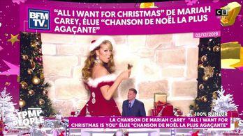 """La chanson de Mariah Carey """"All I want for Christmas is you"""" élue chanson de Noel la plus agaçante"""