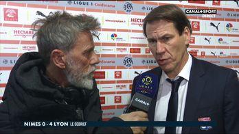 La réaction de Rudi Garcia après Nîmes / Lyon