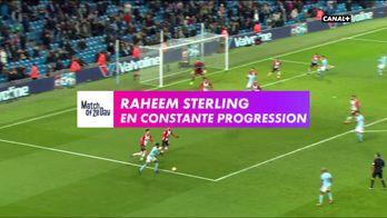 Raheem Sterling : En constante progression