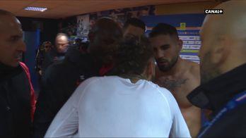 Altercation Neymar/Delort après le match