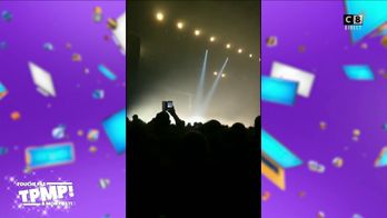 Soprano clame un message de soutien aux gilets jaunes en plein concert