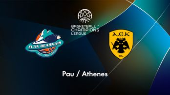 Pau-Lacq-Orthez (Fra) / AEK Athènes (Grc)
