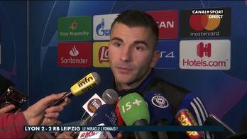 Les réactions d'Houssem Aouar et d'Anthony Lopes après Lyon / Leipzig