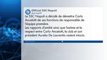 Ancelotti licencié malgré la qualification