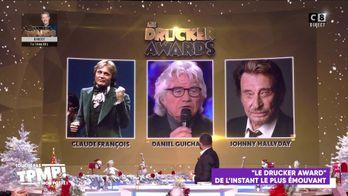 """""""Les Drucker Awards"""" Avec Michel Drucker: Le moment le plus émouvant, le moment le plus embarrassant"""