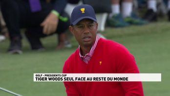 Tiger Woods seul face au reste du monde