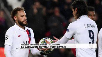 Le cadeau de Neymar pour Cavani