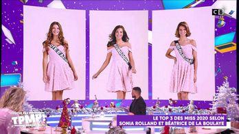 Le Top 3 de Sonia Rolland pour le concours Miss France