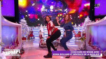 Sonia Rolland affronte les chroniqueurs à coups de twerks !