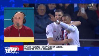 """Vincent Moscato traite Kylian Mbappé de """"gamin"""""""
