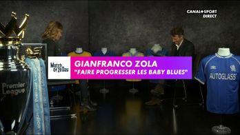 "Gianfranco Zola : ""Faire progresser les baby blues"""