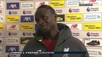 La réaction de Sadio Mané après Liverpool / Watford