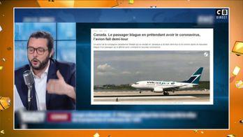 Canada : Le passager d'un avion fait croire qu'il a le coronavirus