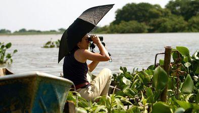 Perrine Crosmary au Brésil