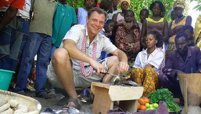 Fred Chesneau au Sénégal