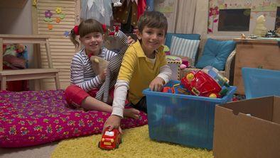 Des jouets pour d'autres enfants
