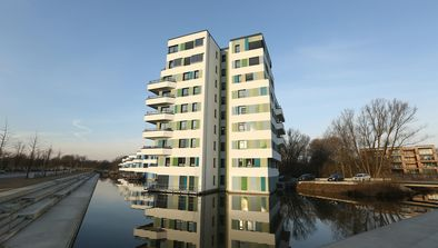 Un quartier pionnier, Hambourg