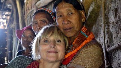 Françoise Spiekermeier en Inde