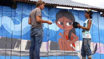 Julien Malland au Pérou