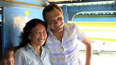 Fred Chesneau au Cambodge