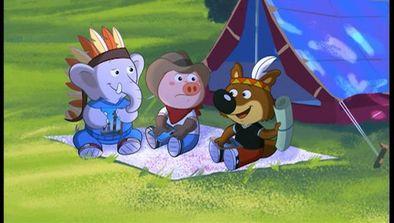 La nuit sous la tente