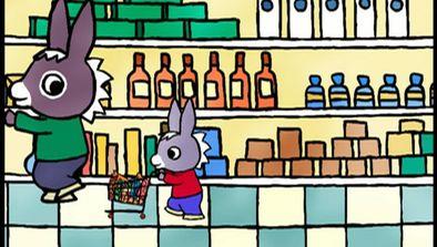 Trotro fait des courses