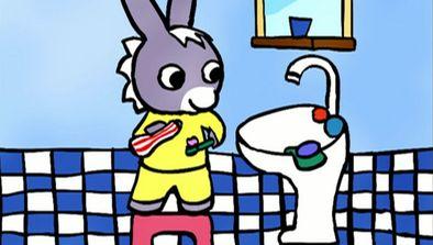 Trotro fait sa toilette