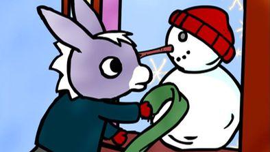 Trotro et le bonhomme de neige