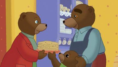 Petit Ours Brun fait des crêpes