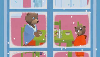 L'ourson de neige