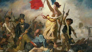 Delacroix part en live