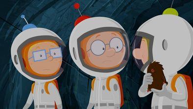 Martin et les astéroidiens